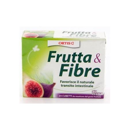 FRUTTA E FIBRA 12CUBETTI MASTICABILI